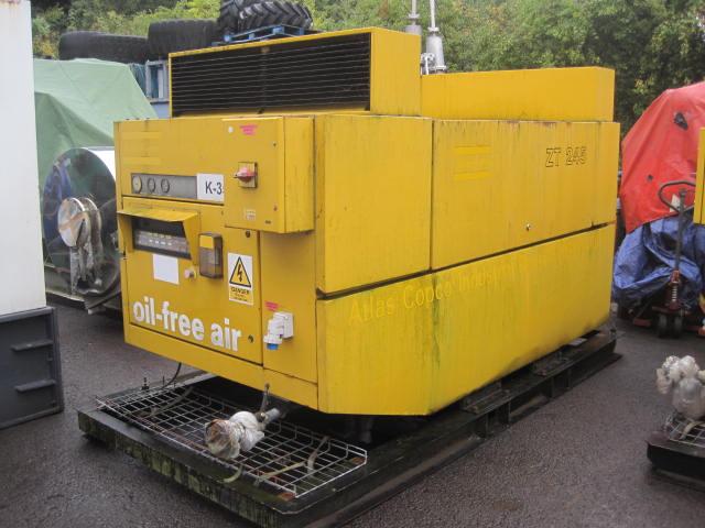 Atlas Copco Zt245 Electric Compressor Stock 4289 Hawick